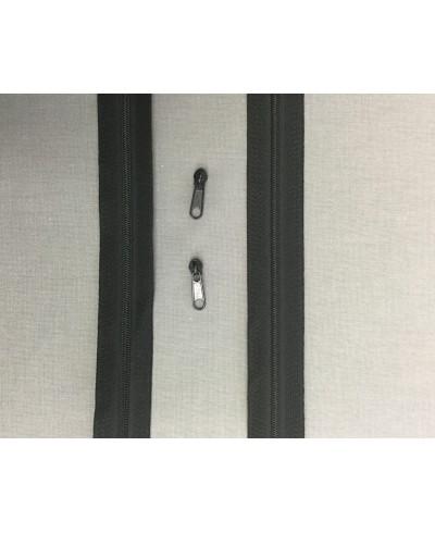 Taśma suwakowa czarna  3mm