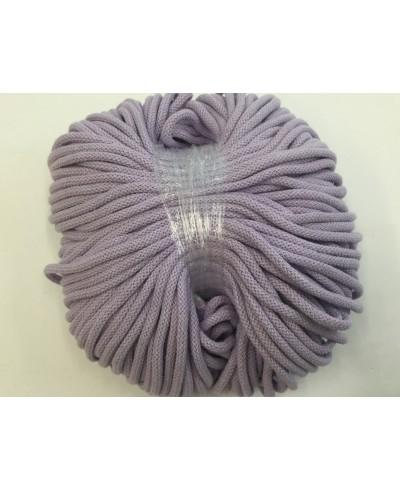 Sznurek bawełniany 5 mm,100 metrów,kolor wrzos