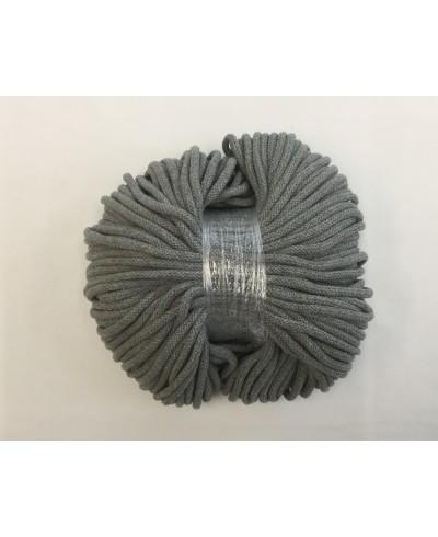 Sznurek bawełniany 5 mm,100 metrów,kolor szary