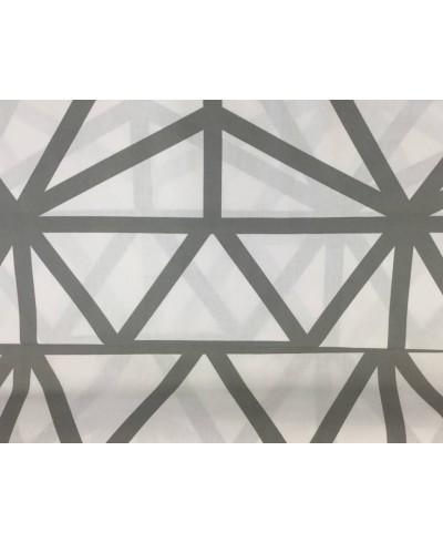Tkanina bawełniana szer.220 cm,pajęczynki szare na białym