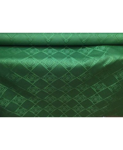 Tkanina obrusowa 160 cm,wodoodporna,c. zieleń