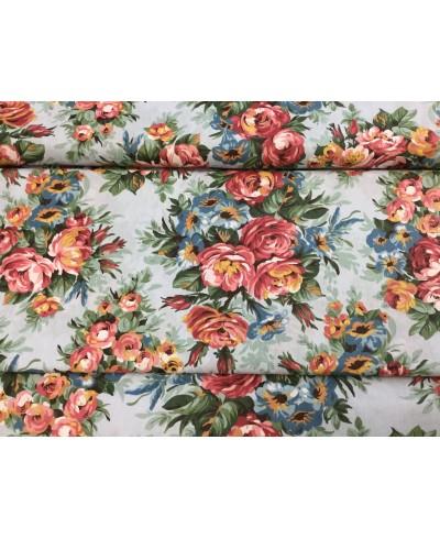 Tkanina dekoracyjna  150 cm róże angielskie