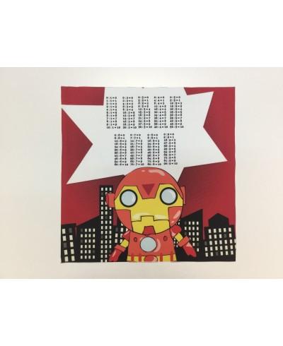 Panel poduszkowy tab.dzielenia 40 x 40 Iron Man