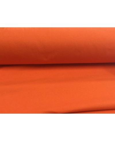 Jersey bawełna elastan pomarańcz