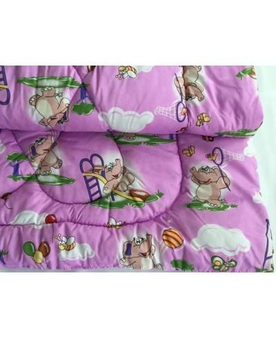 Kołderka dziecięca 120 x 80 + poduszka (kolorowa)