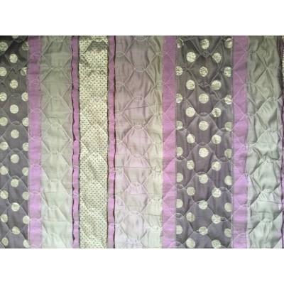 Wyprzedaż Pikówka -tkanina dekoracyjna, pikowana dekoracyjna-240 cm,pasy,kropki,wrzos