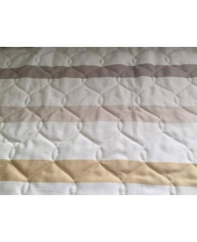 Pikówka 240 cm tkanina dekoracyjna-pasy