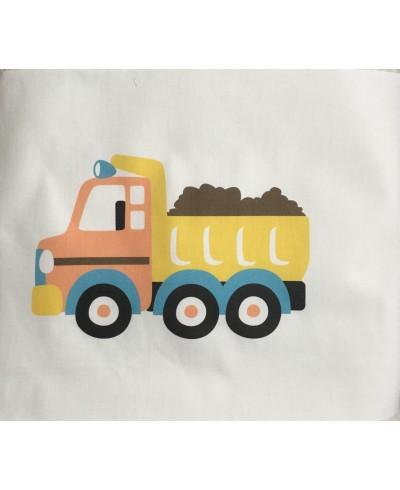 Panel poduszkowy P017-30 x 30-Żółta ciężarówka