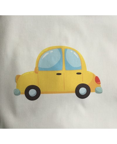 Panel poduszkowy P21-30 x 30 Małe żółte auto