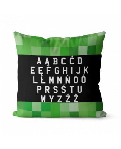 Panel poduszkowy alfabet 40 x 40