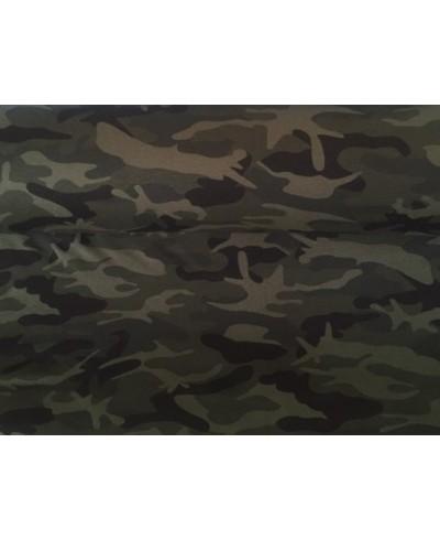 Dresówka pętelka,elastan-moro -180 cm