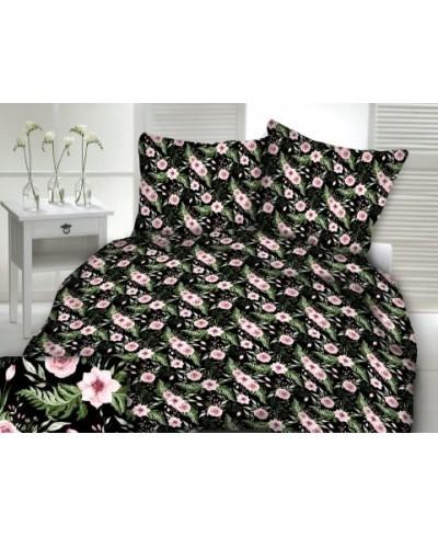 Tkanina bawełniana 160 cm-In garden  czarny