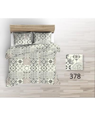 Tkanina bawełniana pościelowa 220 cm-Kafelki portugalskie 378