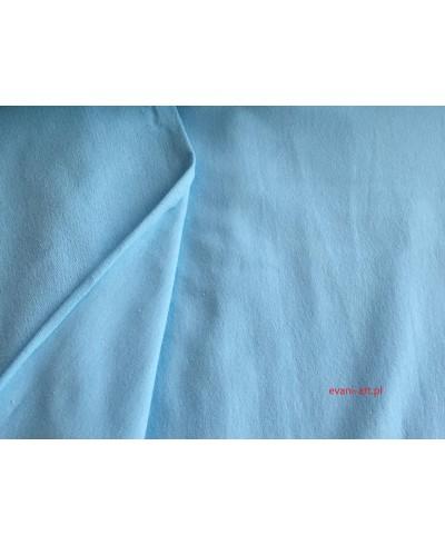 Dresówka pętelka elastan 180 cm-błękit