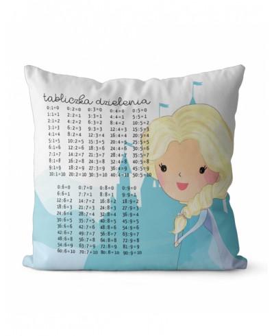Panel poduszkowy 29 x 29cm edukacyjny tabliczka dzielenia Elsa P28b