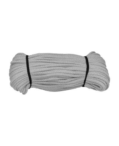 Sznurek bawełniany 5 mm -50 m kolor szary