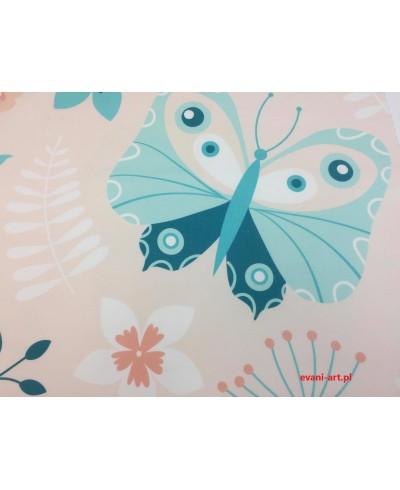 Panel poduszkowy Kolorowy motyl 50 x 48