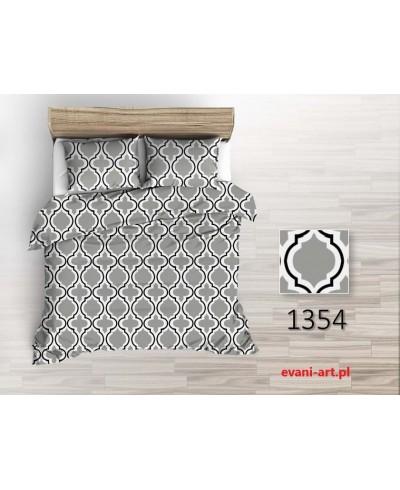 Tkanina Bawełniana  220 cm Wzór Marokański Maroko szare 1354
