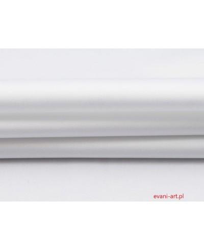 Tkanina bawełniana pościelowa 220 cm biała,biel 0133
