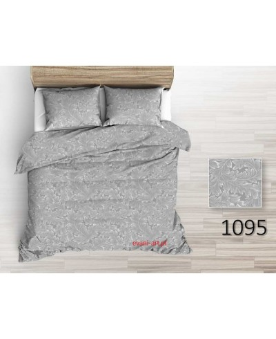 Tkanina bawełniana 220  gałązki szaro-białe na  szarym 0134