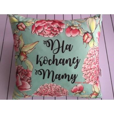 Poduszka dla Mamy Na Prezent 045P  Dla Kochanej Mamy
