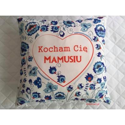 Poduszka Dla Mamy Na Prezent  Kocham Cię Mamusiu 087