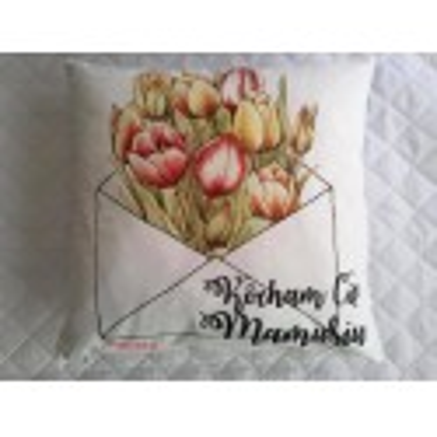 Poduszka dla Mamy Na Prezent Kocham Cię Mamusiu 088