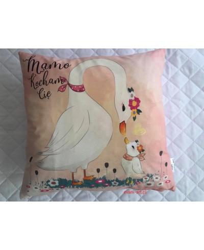 Poduszka dla Mamy Na Prezent Mamo Kocham Cię 089