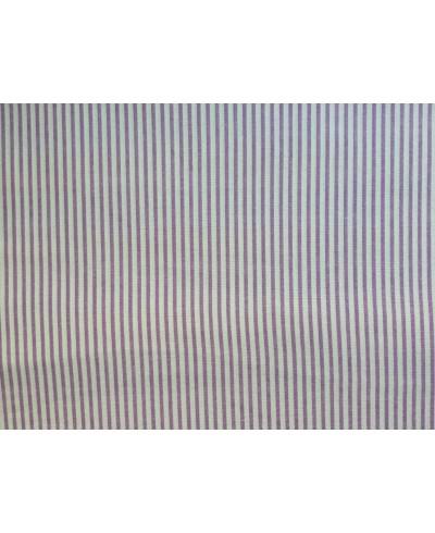 Bawełna 160 cm wzór drobne paski wrzos